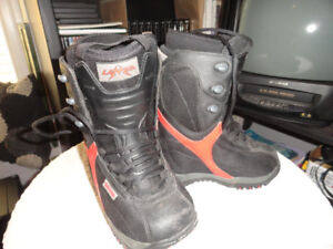 Boys Snowboard Boots size 1 - Great Condition!