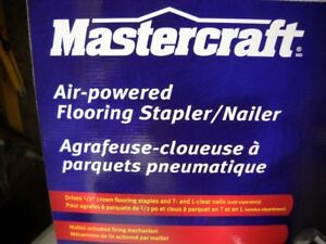 Mastercraft Flooring Stapler/Nailer