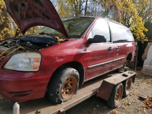 Ford freestar for parts