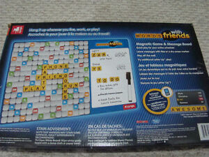 NEW WORDS WITH FRIENDS MAGNETIC GAME & MESSAGE BOARD GAMES 13+ Regina Regina Area image 9
