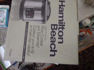 new in box rice cooker/steamer