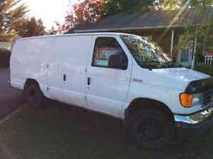 Camion Ford van 2006