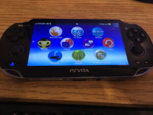 PS Vita + 8gb memory & 1 game
