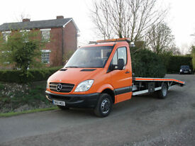 2011(61) MERCEDES SPRINTER 516 CDI LWB (5000kg) RECOVERY TRUCK - FULL HISTORY
