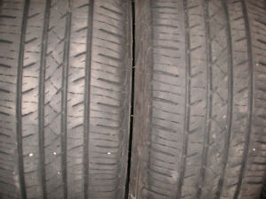 P195/65R15 tires two of the still in good condition good