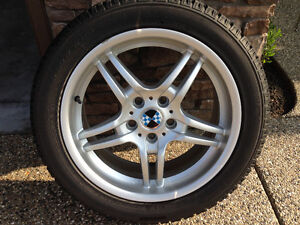 snowtires on rims, for BMW 535i