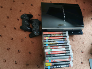 PlayStation 3 with games Southbank Melbourne City Preview