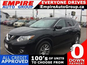 2014 NISSAN ROGUE SL * AWD * LEATHER * REAR CAM * PANORAMIC SUNR