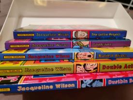 Jacqueline wilson books bundle x5