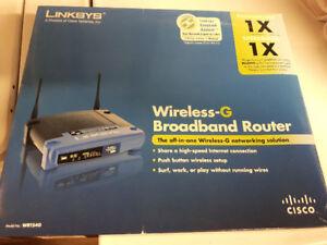 routeur sans fil linksys