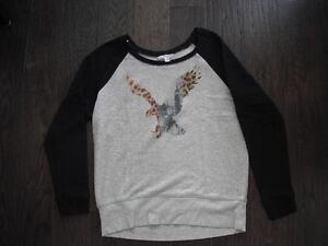 Ladies American Eagle Sweatshirt Size Large