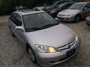 2005 Honda Civic LX-G Automatic ~ Accident FREE ~Certified~Etst