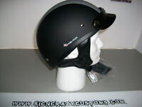 ZEUS L4 Matt Black/Silver Middle Stripe, Beanie Helmets