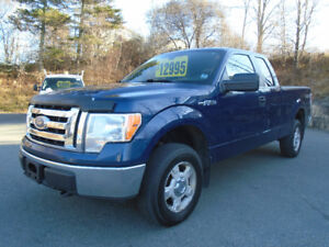 2012 Ford F-150 XLT EXT- CAB 4X4
