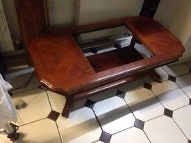 Mahogany antique table