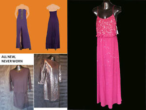Designer dress for prom, weddings, formal occassions, NEW w/tags
