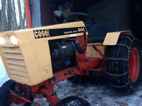 444 case lawn tractor