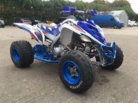 2007 Yamaha raptor 700 custom road legal plg quad
