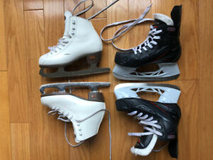Boys hockey skates - CCM - Top prospect - US size 1