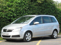 2007 VAUXHALL ZAFIRA 1.6i 16v CLUB ESTATE -7 SEATER - GREAT VALUE !!!