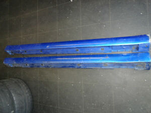 JDM SUBARU WRX STI SIDE SKIRT VERSION 7.
