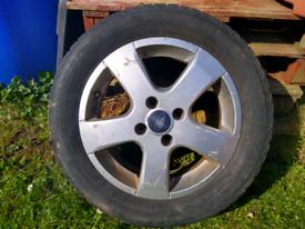 Spare Alloy Wheel Ford Galaxy Alhambra Sharan
