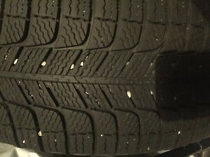 Set of Michelin Brand 205/55 Winter Tires- 1 Season of Use