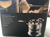 John Lewis fondue set- unused.