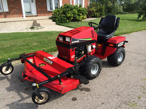 Steiner 430Max Tractor and Mower