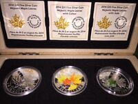 2014 Majestic Maple Leaf Series, from the Royal Canadian Mint