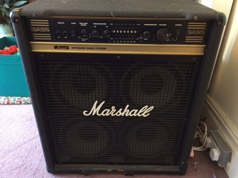 marshall dbs 72410 4x10 200 watt dynamic bass combo amplifier in sheffield south yorkshire. Black Bedroom Furniture Sets. Home Design Ideas