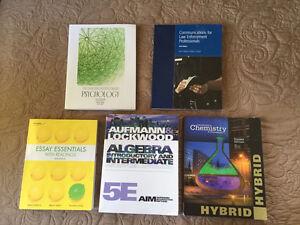 Pre-Health S.1 & Police Foundations S.1 + 2 Books Mohawk College