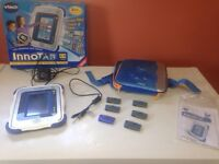 Blue or pink innotab with games,cord, adapter and case!!