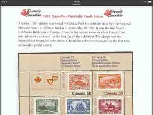 Canada 82 International Philatelic Youth Exhibition 1982 Stamps