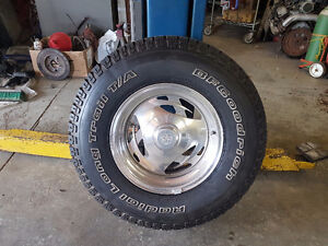 4 BFG tires and rims for sale