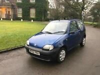 Fiat Seicento 1.1 2001 S, 38,000 Miles, Full Service History