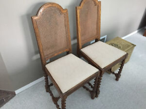 Vintage table and chairs