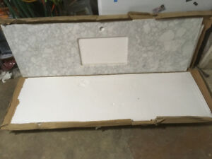 New undermount sink and stone countertop for sale