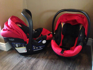 Britax car seats, bases and stroller adapters