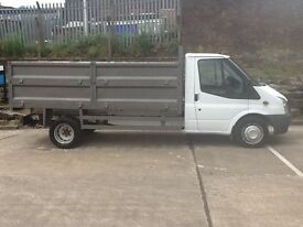 Ford transit tipper 60reg 115 no vat
