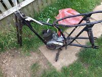 BSA Bantam D7 frame and engine - trials bike?