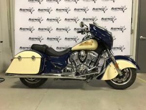 2015 Indian Motorcycle Chieftain Springfield Blue/Ivory Cream