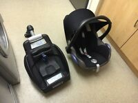 Maxi-cosi car seat group 0+ and easy fix base