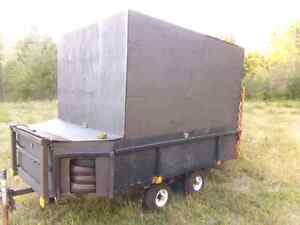 Very good enclosed Landscaping /Utility  Trailer for sale....800