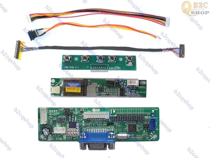 Controller Monitor Kit Converter for LQ150X1LBE4 2270 LCD Lvds Driver Board