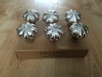 6 X vintage antique style drawer pull knobs
