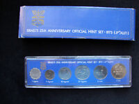 1973 Israel 6 coin mint set