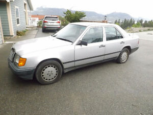 In mint condition my 1987 Mercedes Benz 300D