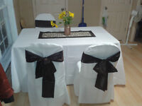 Wedding Chair Covers & Tablecloths