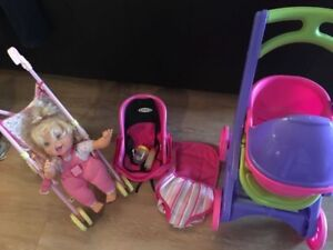Girl's doll sets. AVAILABLE